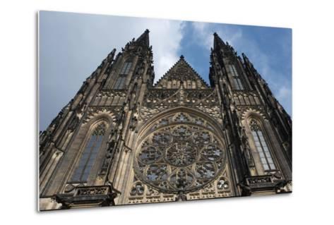 St. Vitus Cathedral, Prague, Czech Republic--Metal Print