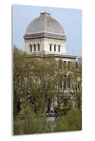 Italy, Rome, Great Synagogue of Rome, 1901-1904, Exterior--Metal Print