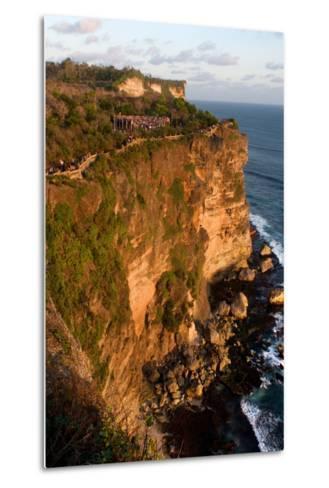 Cliffs Next to the Ulu Watu Temple Pura Luhur, Bali--Metal Print
