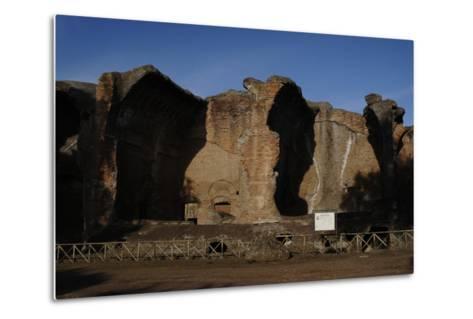 Hadrian's Villa, 2nd Century, Great Baths, Italy--Metal Print