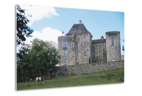 Chateau of Saint Projet, Midi-Pyrenees, France--Metal Print