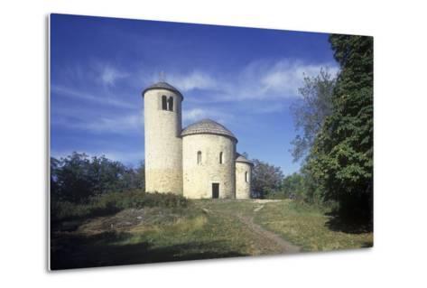 Rotunda of St. George at Rip Hill, Bohemia, Czech Republic--Metal Print