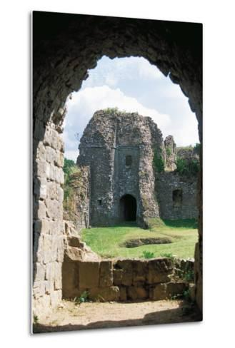 The Ruins of Chateau of Montcornet, Champagne-Ardenne, France--Metal Print