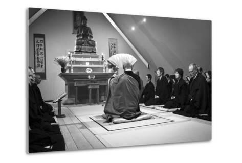 A Ceremony for All Suffering Beings, Zen Monastery Ryumonji, July 2014--Metal Print