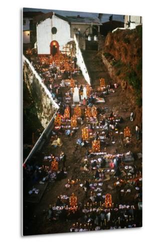 Day of the Dead Celebration, Janitizio, Michoacan, Mexico--Metal Print