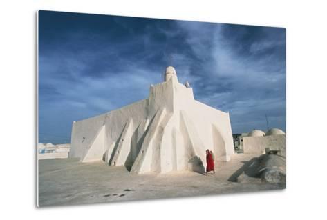 Oum El Turkia Mosque, El May, Djerba, Tunisia--Metal Print