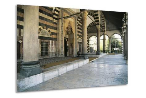 Mosque of Suleiman the Magnificent, Damascus, Syria--Metal Print