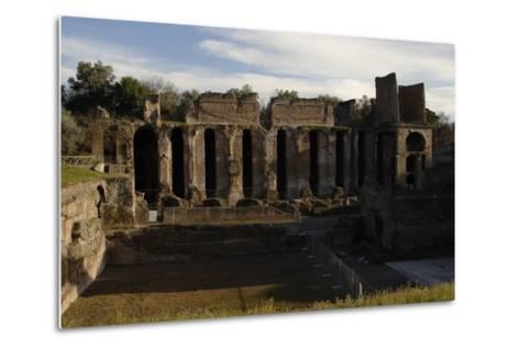 Hadrian's Villa, 2nd Century, Praetorium, Italy--Metal Print