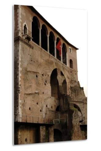 Italy, Rome, Museum of the Imperial Fora--Metal Print