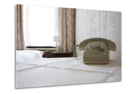 Telephone in a Room, Berlin, 2009--Metal Print