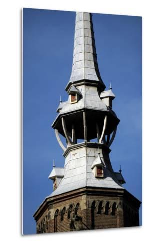 Netherlands, Utrecht, St, Catherine's Cathedral, Campanile, Detail--Metal Print