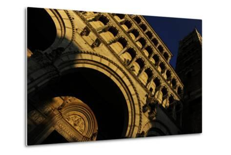 Italy, Lucca, Cathedral of Saint Martin, Facade--Metal Print
