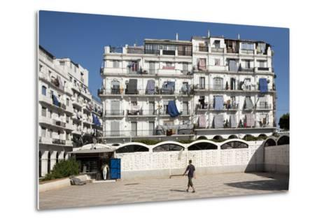 Haussmann Building in Algiers, Algeria--Metal Print