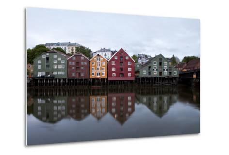 Nidelva River, Trondheim, Norway, 2010--Metal Print