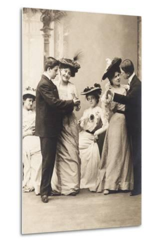 The Casino Ball, from the 'Fantaisies' Series, 1900--Metal Print