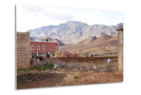 Djebel Siroua, Near Taliouine, Morocco--Metal Print