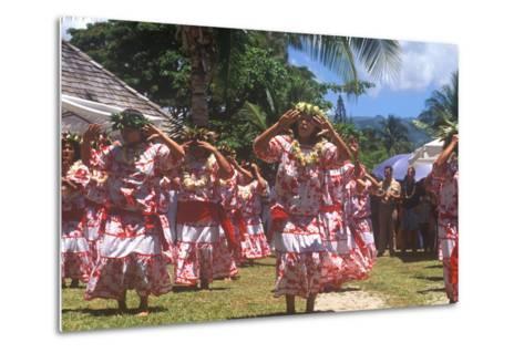 Tiare Tahiti Day, Papeete, Tahiti--Metal Print