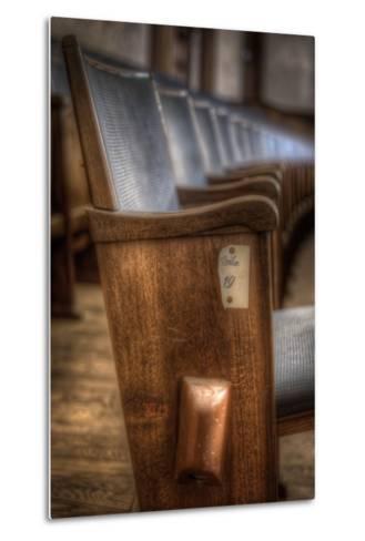 Theatre Seating-Nathan Wright-Metal Print