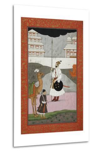 Bhopali Ragini, Folio from a Ragamala (Garland of Melodies)--Metal Print