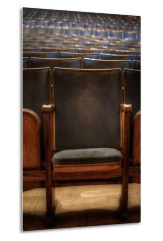 Theatre Seating-Nathan Wright-Metal Print