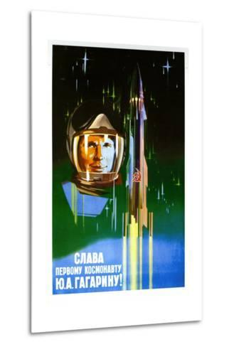 Long Live the First Astronaut--Metal Print