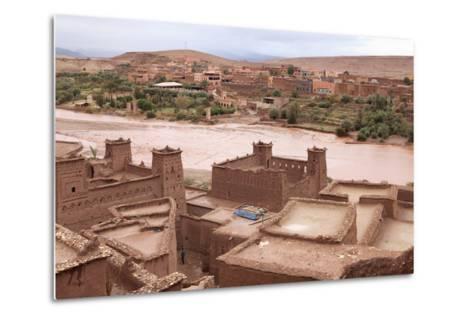 Ksar of Ait-Ben-Haddou, Morocco--Metal Print