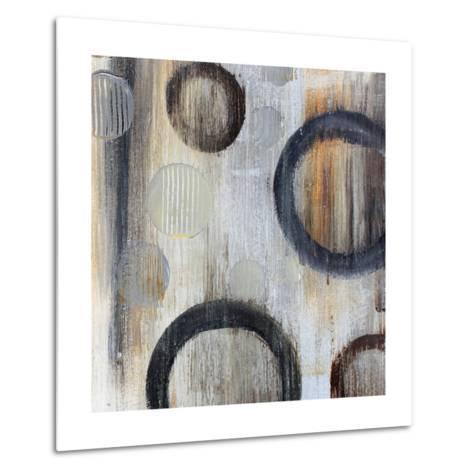 Geometric Abstraction I-Irena Orlov-Metal Print