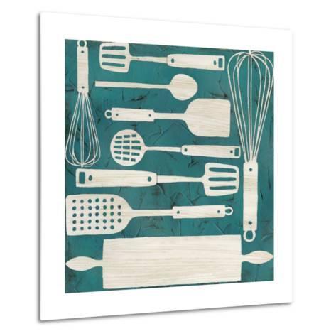 Kitchen Kitsch IV-June Erica Vess-Metal Print