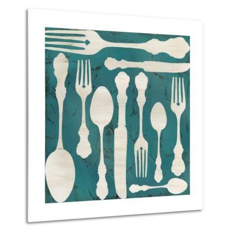Kitchen Kitsch III-June Erica Vess-Metal Print