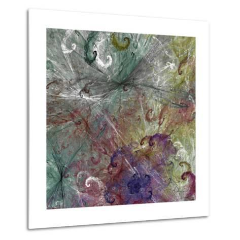 Spinout Tiles III-James Burghardt-Metal Print