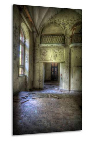 Abandoned Building Interior-Nathan Wright-Metal Print