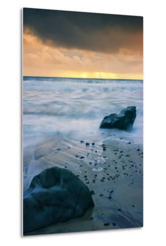 Stormy Seascape at Pfeiffer Beach Big Sur California Coast-Vincent James-Metal Print