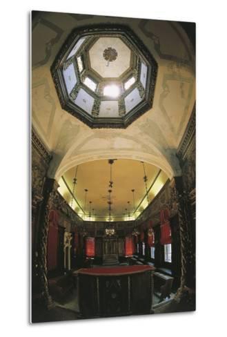 Interior of the Italian Synagogue, Venice--Metal Print