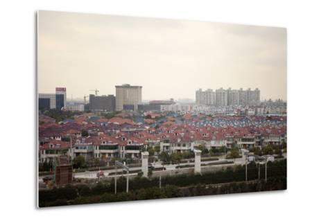 Between Shanghai and Hangzhou, China--Metal Print