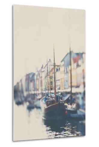 Danish Harbour-Laura Evans-Metal Print
