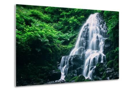 Ethereal Fairy Falls, Columbia River Gorge, Oregon-Vincent James-Metal Print