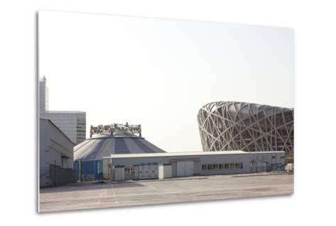 Beijing National Stadium, Beijing, China--Metal Print