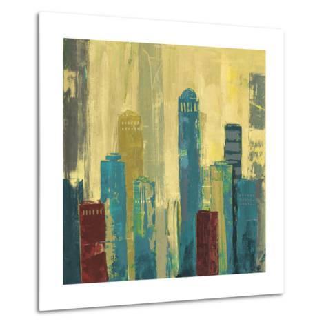 City Connection I-Julie Joy-Metal Print