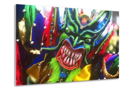 Mardi Gras, La Vega, Dominican Republic, Caribbean--Metal Print