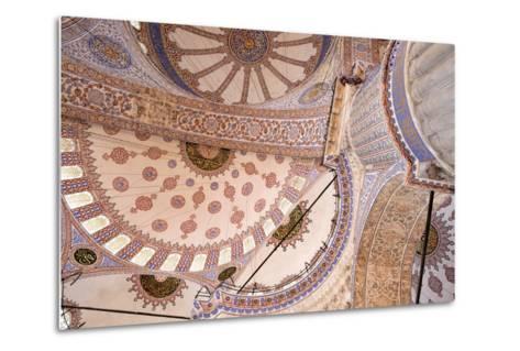 Yeni Mosque, Istanbul, Turkey--Metal Print