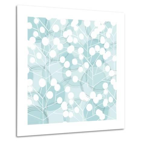 Popping Flowers III-Ali Benyon-Metal Print