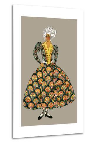 Fishmonger of Marseille-Elizabeth Whitney Moffat-Metal Print