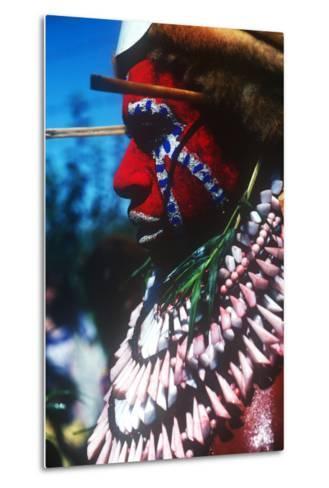 Mt. Hagen Highland Show, Goroka, Papua New Guinea--Metal Print
