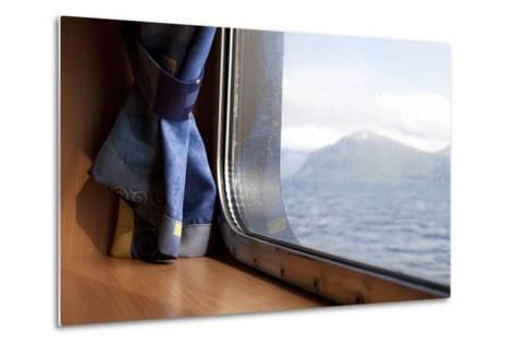 Ferry Between Hareid-Sulesund, Norway, 2010--Metal Print