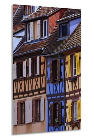 Colorful Half-Timbered Homes in Petite Venice, the Old Town of Colmar, France-Babak Tafreshi-Metal Print