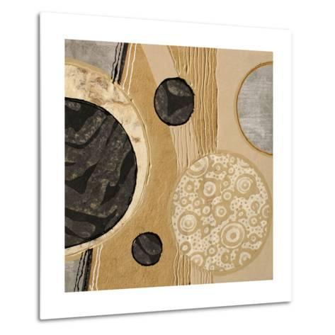 Calm Circles I-Irena Orlov-Metal Print
