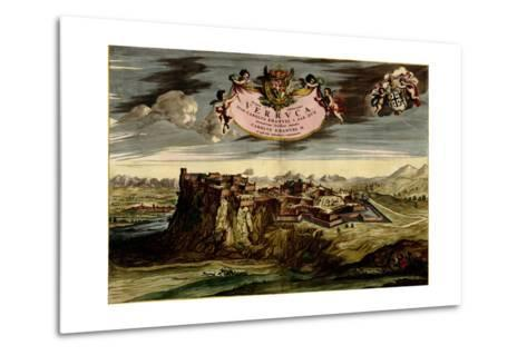 Turin or Torino and its Envisons - 1700-Anna Beeck-Metal Print