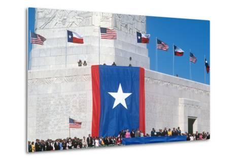 San Jacinto Celebration, Houston, Texas--Metal Print