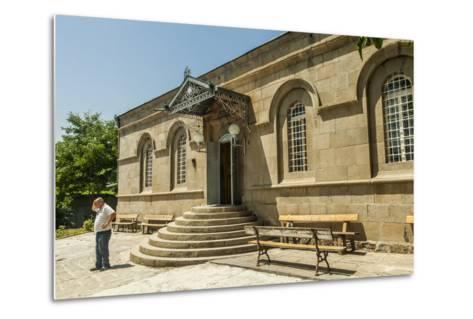 The Exterior of the Akhaltsikhe Synagogue of the Georgian Jews-Richard Nowitz-Metal Print