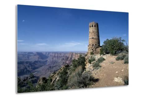 Desert View Watchtower, South Rim - Grand Canyon-Carol Highsmith-Metal Print